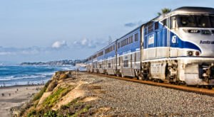 This 350-Mile Train Ride Is The Most Relaxing Way To Enjoy Southern California Scenery