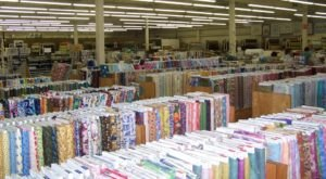 A Massive Fabric Warehouse In Arkansas, Marshall Dry Goods Is A Dream Come True