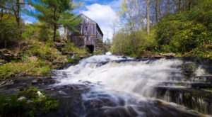 This Perfect Seasonal Hike Will Take You To A Historic Massachusetts Saw Mill