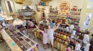 The Gigantic Candy Store Near New Orleans You'll Want To Visit Over And Over Again