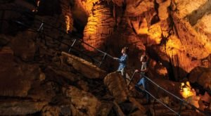 Venture Nearly 350-Feet Deep Below The Earth At These One Of A Kind Caverns In Tennessee