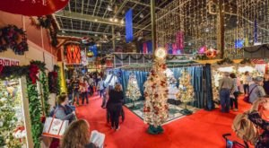 This Enormous Christmas Expo Happening Now In North Carolina Will Put You In The Holiday Spirit