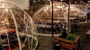 Hang Out In An Igloo At This One-Of-A-Kind New Jersey Biergarten