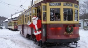 This Christmas Trolley In Connecticut Goes Straight Through A Winter Wonderland