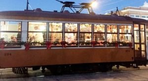 Board This Historic Arkansas Trolley For A Magical Christmas You Won't Forget