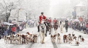 Middleburg Turns Into A Winter Wonderland Each Year In Virginia