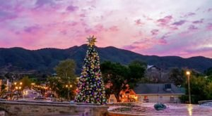The One Southern California Town That Transforms Into A Christmas Wonderland Each Year