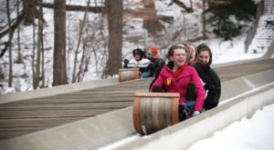The Toboggan Park Near Cleveland That Will Make Your Winter Unforgettable