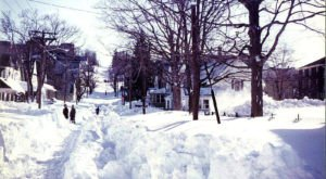 It's Impossible To Forget The Year Rhode Island Saw Its Single Largest Snowfall Ever