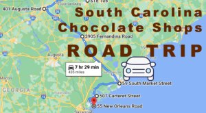This Road Trip Takes You To The Best Chocolate Shops In South Carolina