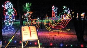 You Will Love This Dreamy Ride Through The Largest Drive-Thru Light Show In Indiana