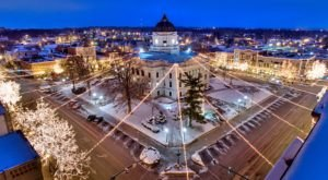 The Most Enchanting Christmastime Main Street In The Country Is Bloomington In Indiana