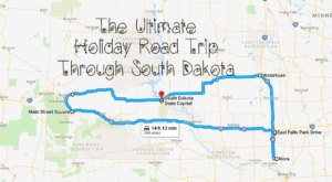 The Ultimate Holiday Road Trip Through South Dakota Will Make Your Spirit Bright