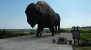 The World's Largest Buffalo Monument Is Right Here In North Dakota And You'll Want To Visit