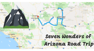 This Scenic Road Trip Takes You To All 7 Wonders Of Arizona