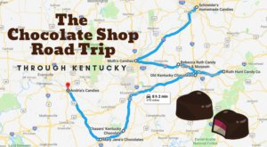 The Sweetest Road Trip in Kentucky Takes You To 8 Old School Chocolate Shops