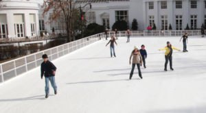 Glide Across The Largest Ice Skating Rink In West Virginia For An Unforgettable Outdoor Adventure