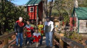 The Magical Christmas Elf Village In North Carolina Where Everyone Is A Kid Again
