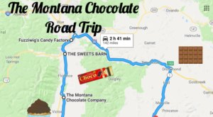 The Sweetest Road Trip In Montana Takes You To 6 Old School Chocolate Shops
