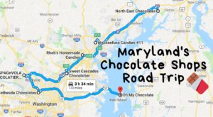 The Sweetest Road Trip in Maryland Takes You To 7 Old School Chocolate Shops
