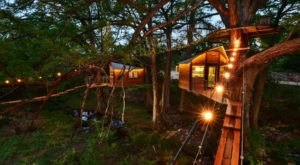 The Texas Treehouse That'll Give You The Ultimate Secluded Getaway