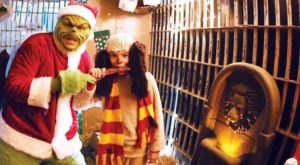 Visit The Grinch's Lair In An Old Texas Jail For A Unique Christmas Experience