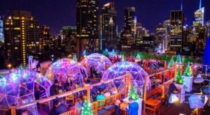 The Magical Rooftop In New York That Turns Into An Igloo Wonderland Each Winter