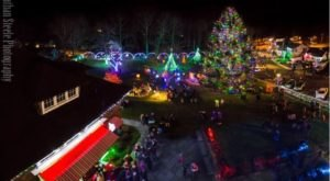 This Christmas Village In Connecticut Comes Alive With 400,000 Sparkling Lights