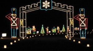 You Will Love This Dreamy Ride Through The Largest Drive-Thru Light Show In Alabama