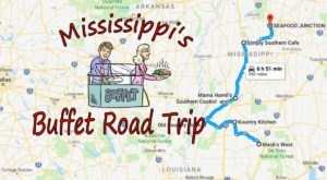 Eat To Your Heart's Content Along This Mississippi Buffet Road Trip