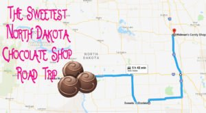 The Sweetest Road Trip In North Dakota Takes You To 4 Old School Chocolate Shops