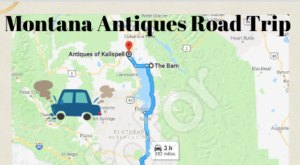 Here's The Perfect Weekend Itinerary If You Love Exploring Montana's Best Antique Stores