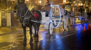 Take A Horse Drawn Carriage Ride In Oklahoma For A Night Of Pure Wonder