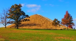 This Enormous And Fascinating Burial Mound Is Just A Short Drive From Cincinnati