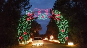 Take A Dreamy Ride Through The Holiday Festival Of Lights, The Largest Drive-Thru Light Show In South Carolina
