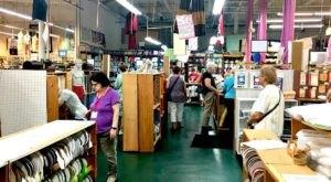 This Massive Fabric Warehouse In Rhode Island Is A Dream Come True