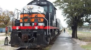 Watch The Texas Countryside Whirl By On This Unforgettable Christmas Train