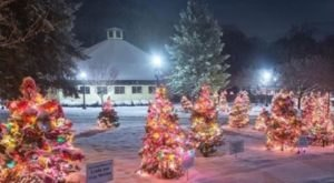The Christmas Tree Trail At Slater Park In Rhode Island Is Like Walking In A Winter Wonderland