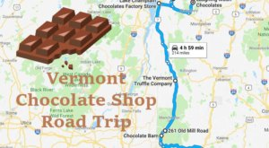 The Sweetest Road Trip in Vermont Takes You To 7 Old School Chocolate Shops