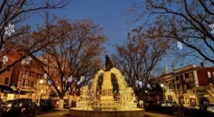 These 8 Festive Town Squares In Cincinnati Are Decked Out For The Holidays