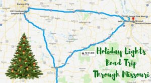 Everyone Should Take This Spectacular Holiday Trail Of Lights In Missouri This Season