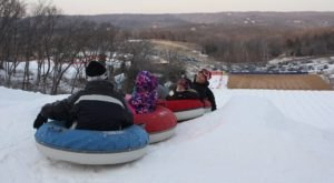 The Country's Best Snow Tubing Park In Missouri Is Hidden Valley Ski Resort And It's A Blast To Visit
