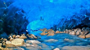 A Trip Inside Alaska's Frozen Caves Is Positively Surreal