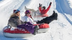 The Country's Best Snow Tubing Park In New Jersey Is Mountain Creek And It's A Blast To Visit