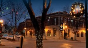 At Christmastime, This Nebraska Town Has The Most Enchanting Main Street In The Country