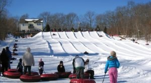 Rhode Island Is Home To The Country's Most Underrated Snow Tubing Park And You'll Want To Visit
