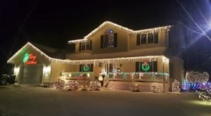 It Isn't Christmas Until You've Visited Montana's Candy Cane Lane
