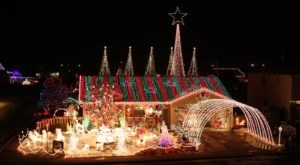 This May Just Be The Most Epic Christmas Light Home Display In All Of Colorado