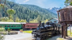The Rooms At This Railroad-Themed Bed & Breakfast In Northern California Are Actual Box Cars