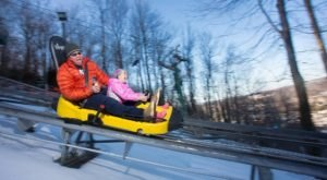 The Winter Coaster In Maryland That Will Take You Through A Snowy Mountain Wonderland
